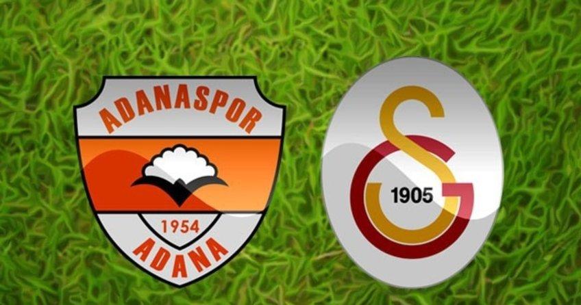 Adanaspor Galatasaray maçı saat kaçta? Adanaspor Galatasaray Canlı Anlatım (İzle)