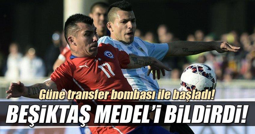 Son dakika: Beşiktaş, Medel'i KAP'a bildirdi