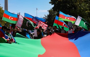Washingtonian protesters rally outside of US Capitol to denounce Armenian aggression