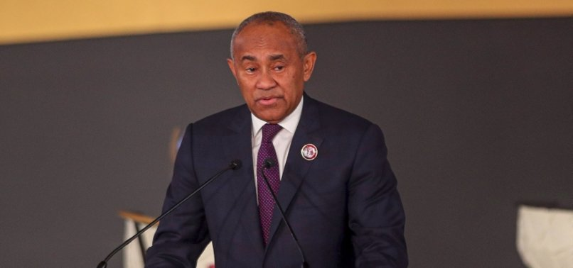 AFRICAN SOCCER PRESIDENT AHMAD BANNED FOR 5 YEARS BY FIFA
