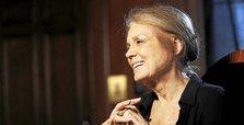 Feminist icon Steinem blasts Israeli premier, calls him