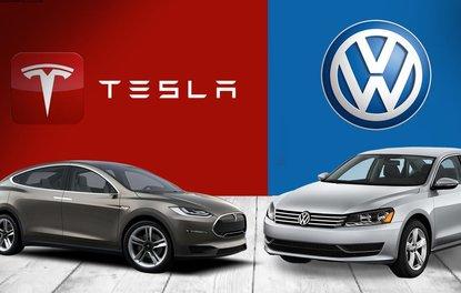 Volkswagen, Teslaya meydan okudu