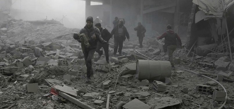 DEATH TOLL TOPS 1,000 IN REGIMES ASSAULT ON SYRIAS GHOUTA