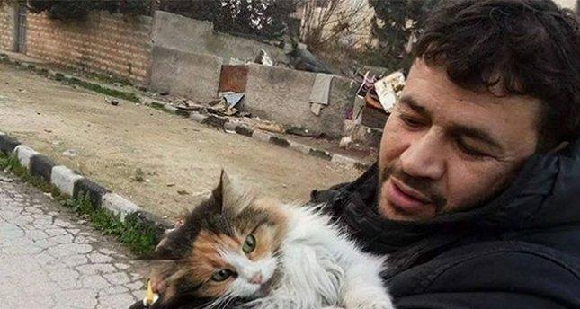 Halep'in kedilerinin koruyucusu