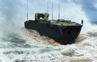 Turkey's locally-made amphibious assault car introduced at Istanbul defense fair