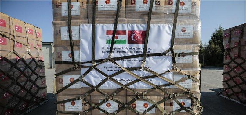 TURKEY SENDS AID TO HELP NIGER FIGHT CORONAVIRUS