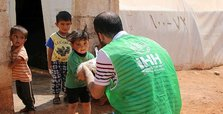 Turkish aid agency provides clothes to Syrian orphans