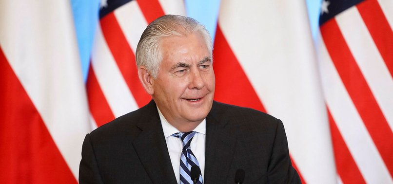 TILLERSON: RUSSIA MUST FACE CONSEQUENCES OVER NERVE AGENT ATTACK