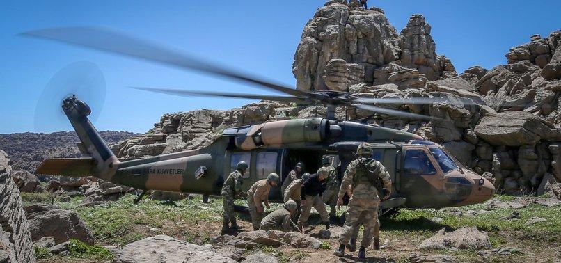 TURKISH FORCES NEUTRALIZE 15 TERRORISTS IN N. IRAQ