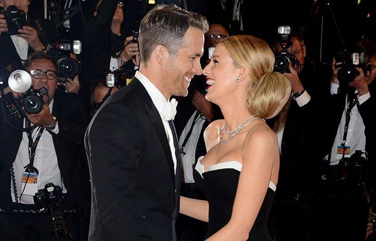 Ünlü oyuncu Blake Lively, eşi Ryan Reynolds için parti organize etti.