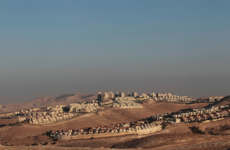 A view of the West Bank Jewish settlement of Maale Adumim is seen near Jerusalem, July 25, 2013. (Reuters Photo)