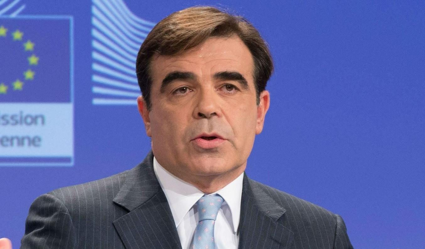 Margaritis Schinas, the current Chief Spokesperson of the European Commission.
