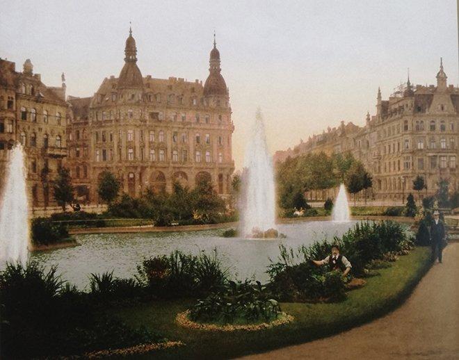 Alman bahçesi, Köln