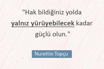 Hareket felsefesini Anadolu'yla buluşturan mütefekkir: Nurettin Topçu
