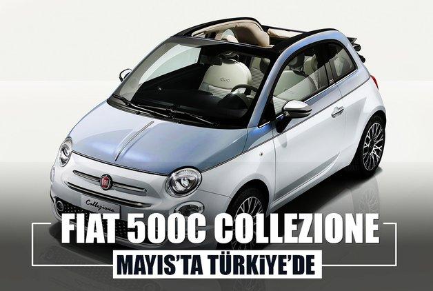Fiat 500C Collezione Türkiye'ye geliyor! İşte tarihi...