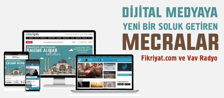 Dijital medyaya yeni bir soluk getiren mecralar: Fikriyat.com ve Vav Radyo