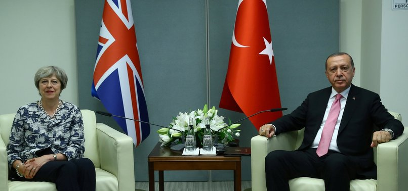 ERDOĞAN HEADS TO UK BEFORE MEETINGS WITH QUEEN, PM