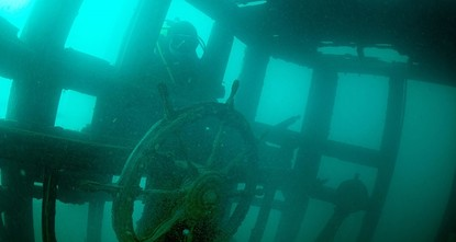 pAn underwater research team has discovered the shipwreck of a military cargo vessel made by the Russians in 1915 in Lake Van, located in Turkey's eastern Bitlis province, reports said on...