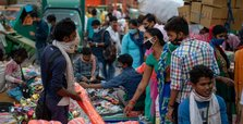 India's COVID-19 cases keep downturn with 50K infections