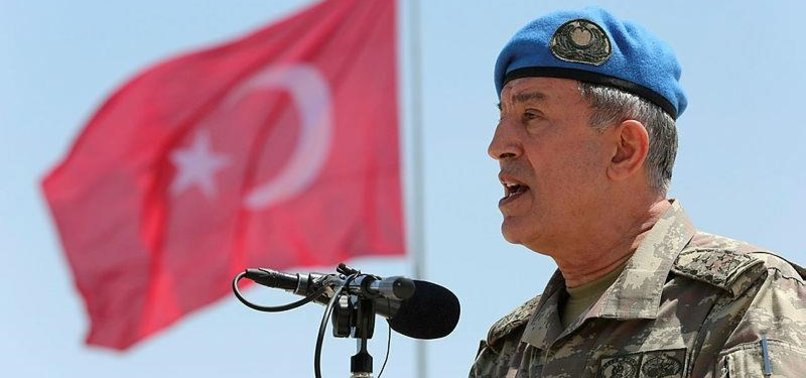 TURKISH ARMY CHIEF VOWS TO FIGHT AGAINST TERROR GROUPS